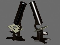 metal microscope 3d 3ds