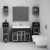 CGAXIS bathroom set 04