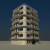 building 01 3d model