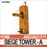 Roman Legionary Siege Tower A [De Re Militari]