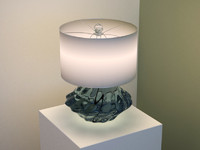 Crystal based lamp