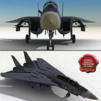 f-14 tomcat 3d max