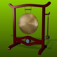FR Brass Gong