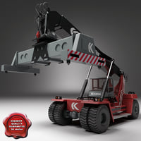 kalmar reach stacker 3d model