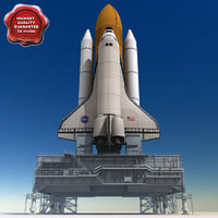 Mobile Launch Platform and Shuttle
