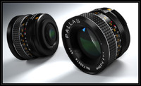 Pallas 23mm f=3.5 M42 photo camera lens