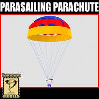obj parasailing parachute