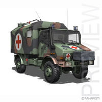 Mercedes Benz Unimog U1300L - Ambulance