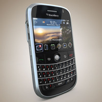 blackberry bold 3d model