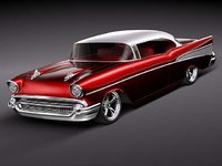 chevrolet bel air belair 3d model