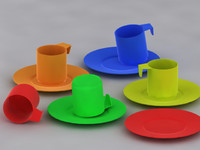 3d model toy cup