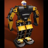 3d robonova robot