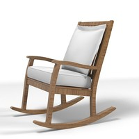 rock modern chair 3d model