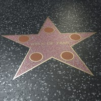 Walk of fame-star