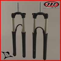 bike fork 3d max