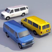 Transit Van 3DModel