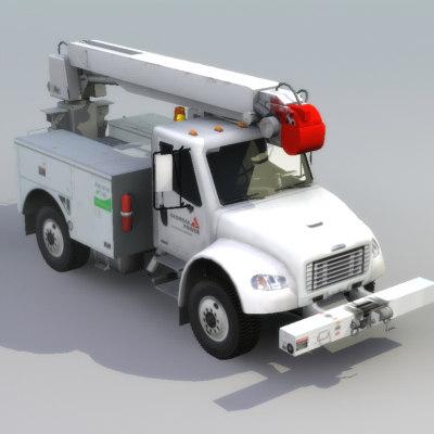 FL80_Line_Drill_Truck_3D