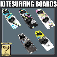 Kitesurfing Boards Collection