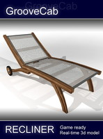 recliner chair 3d model