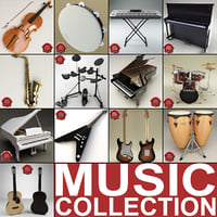 Music Instruments Collection V4