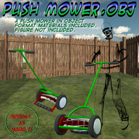 Push Mower.obj