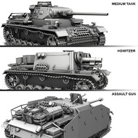 Panzerkampfwagen 3 (Panzer 3) - Collection