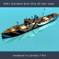 SS War Viper obj