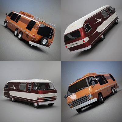 USA Classic Motorhome Set