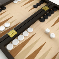 backgammon gammon 3d model