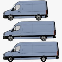 VW Crafter Van High Roof