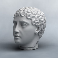 3D Scan of Unknown Statue Head