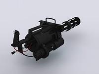 free max model minigun gun