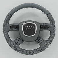 3ds max audi steering wheel