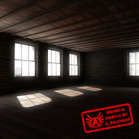 Building 1 OLD - HD Old Abandoned Building - 3ds max 2010 - Mental Ray