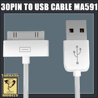 3ds max apple 30 pin usb cable