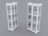 Ikea Liatorp (glass door cabinet)