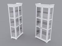 ikea liatorp cabinet 3d max
