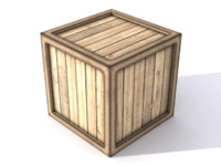 crate ready 3d model