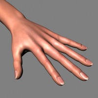 Hand and arm_Textured