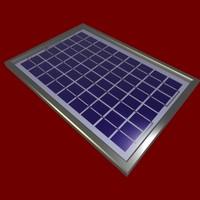 solar panel 3d cob