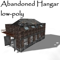 3d abandoned hangar