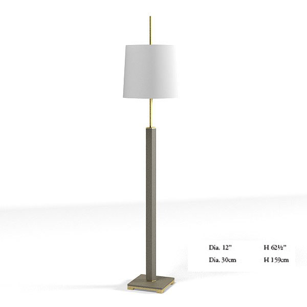 3d model baker floor lamp for Modern floor lamp philippines