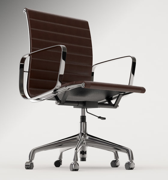 Eames office chair 3d model for Icon mobel eames