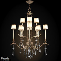 fine art lamps 567840st  chandelier