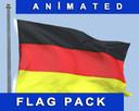german flag 3D models