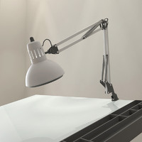 3d model drafting swing arm lamp