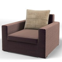 minotti square moore 3d model