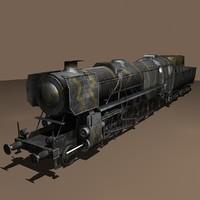 Baureihe 52 with LODs