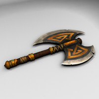 Battle Axe (Short Handle)