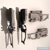 HASU FCR WEAPON SET